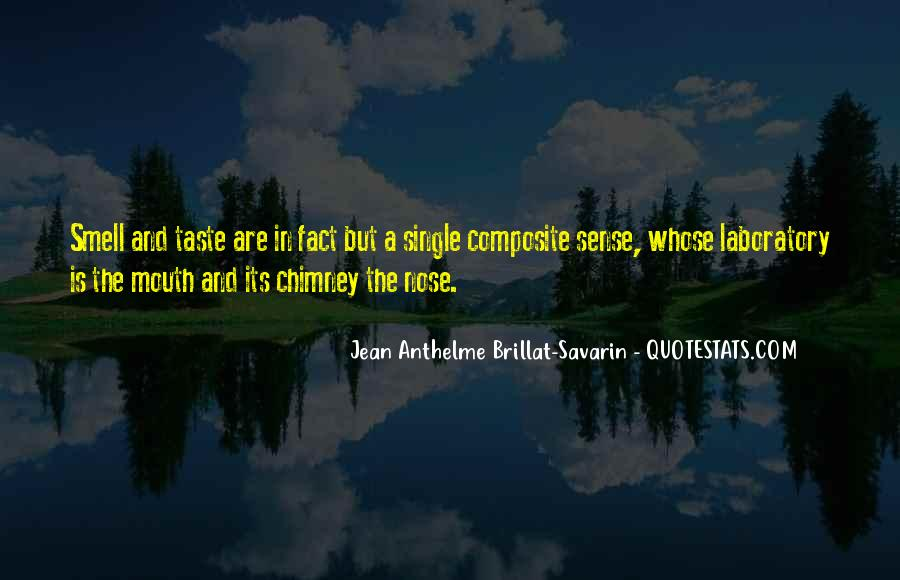 Quotes About Taste And Smell #68463