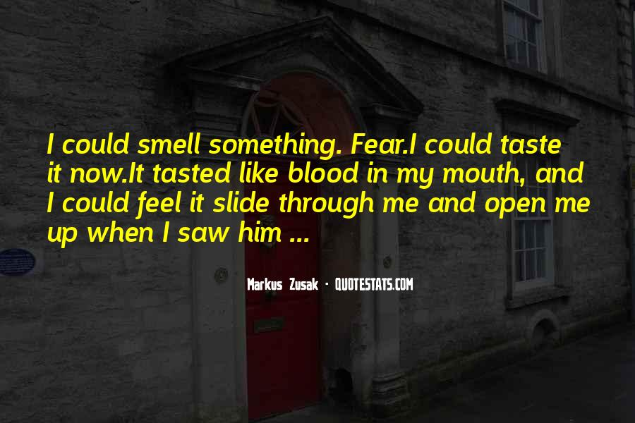 Quotes About Taste And Smell #866331