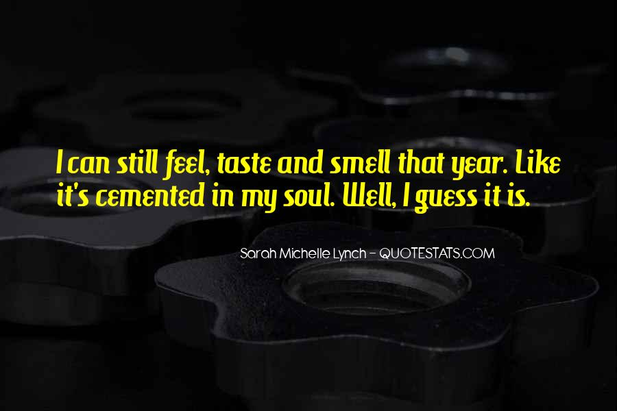 Quotes About Taste And Smell #94305