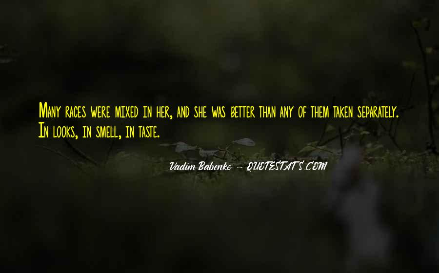 Quotes About Taste And Smell #982625