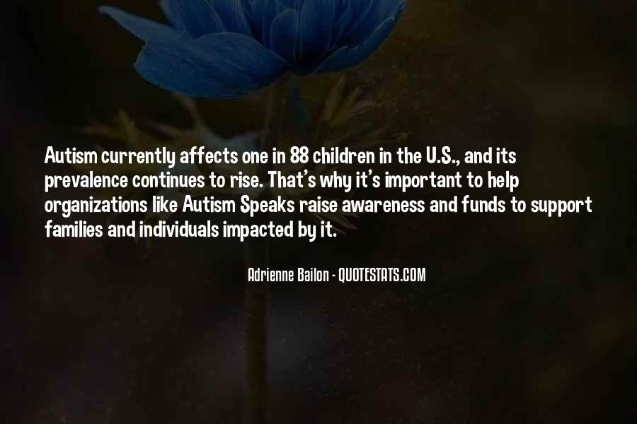 Quotes About Autism Speaks #1846578