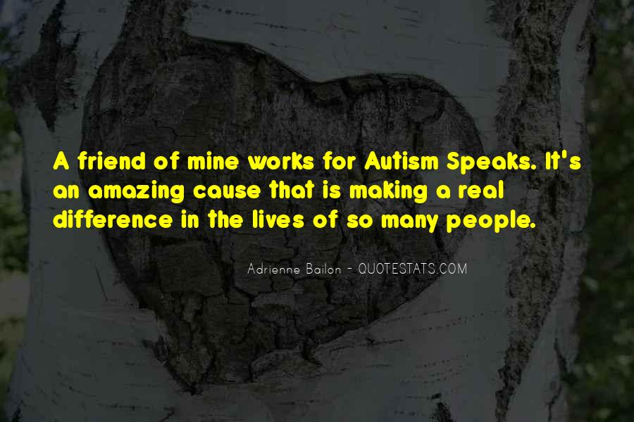Quotes About Autism Speaks #25299