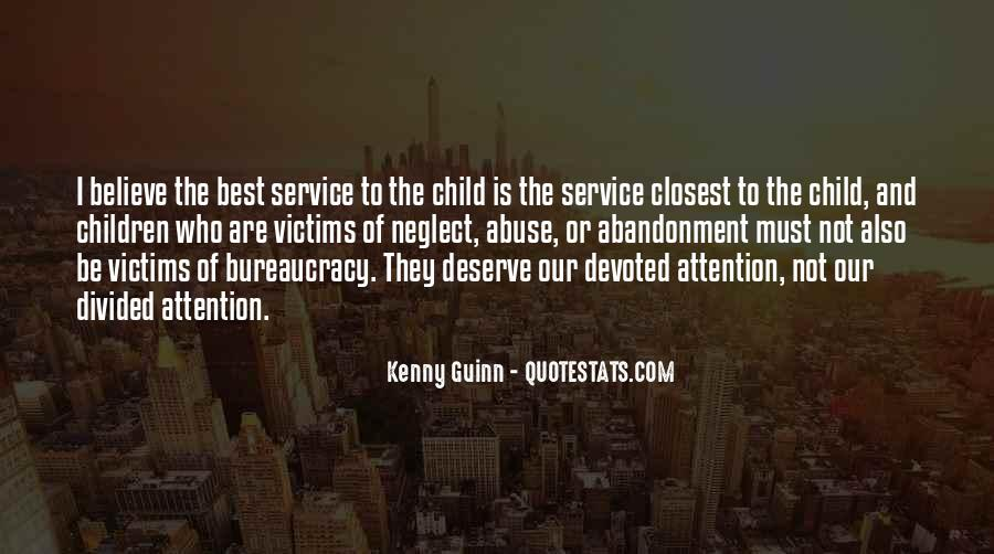 Quotes About Child Abandonment #269492