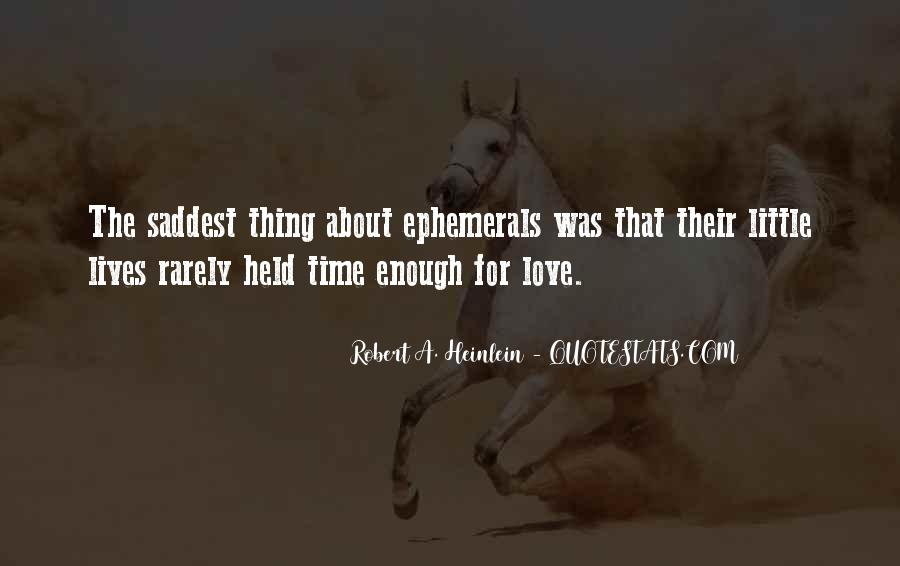 Quotes About Saddest Love Of All Time #22276