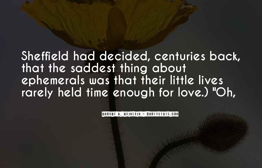 Quotes About Saddest Love Of All Time #317944