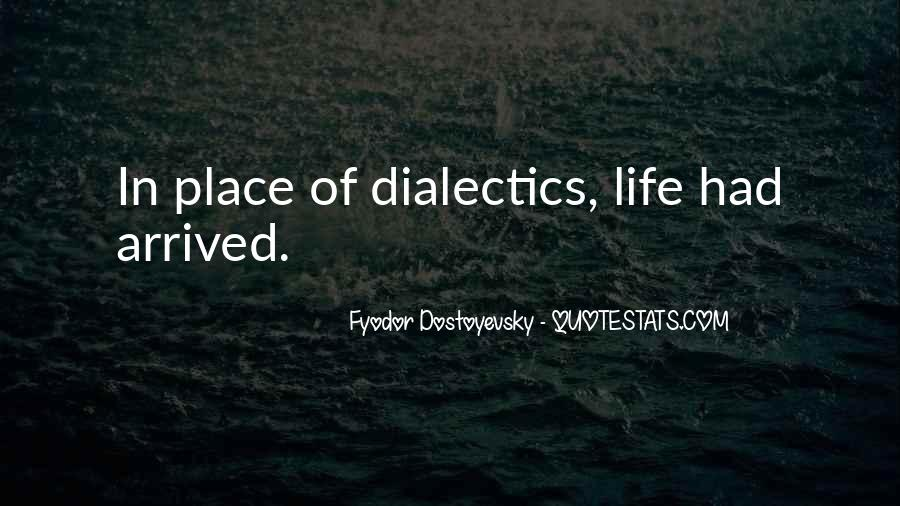 Quotes About Dialectics #209324