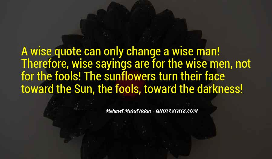 Quotes About Sunflowers #278190