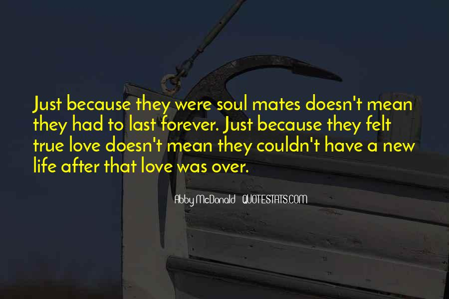 Quotes About Soul Mates And True Love #1104431