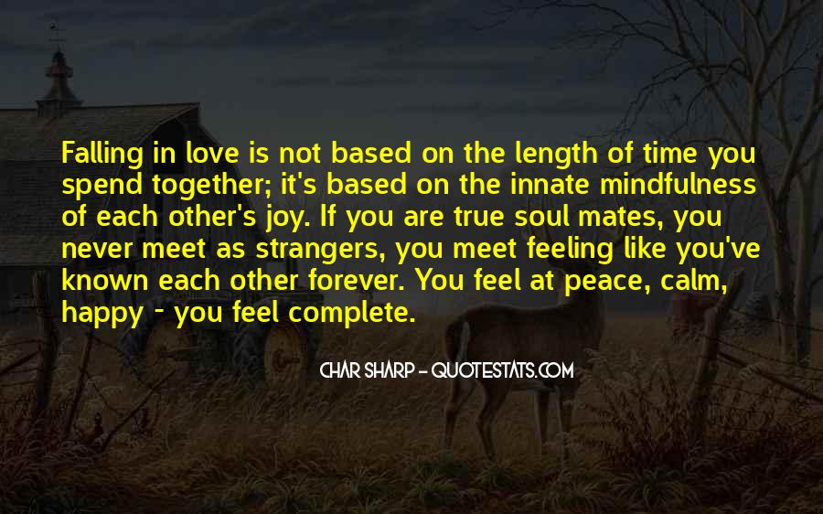 Quotes About Soul Mates And True Love #1410281