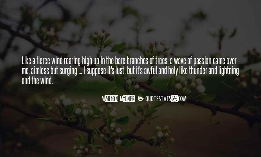 Quotes About Bare Branches #635176