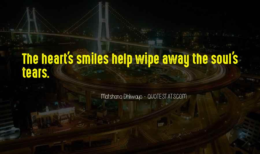 Quotes About Smiles And Sadness #193011