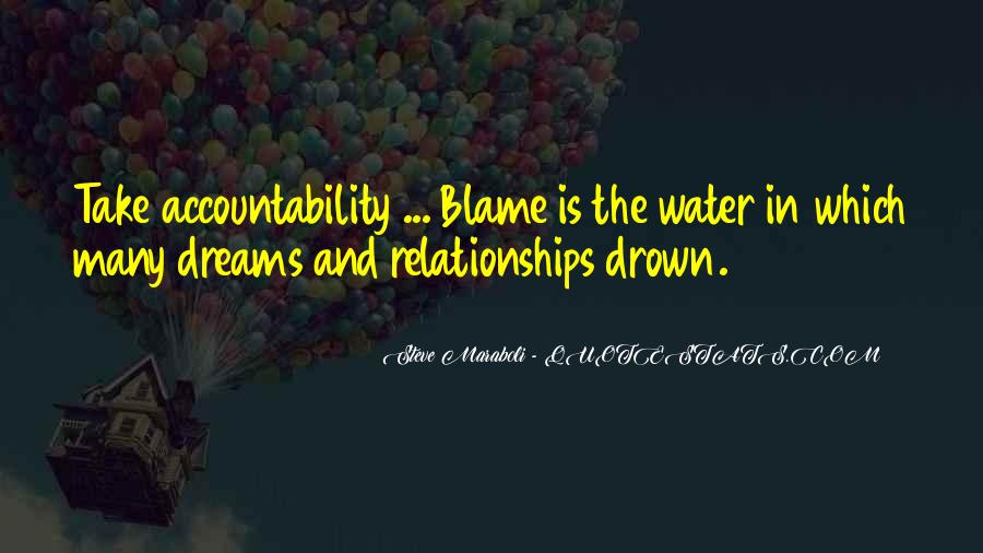 Quotes About Accountability In Relationships #468762