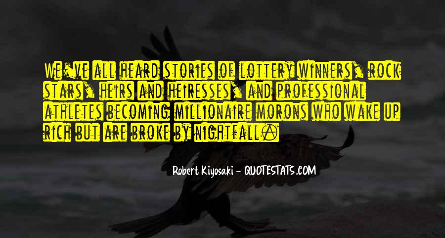 Quotes About Lottery Winners #883520
