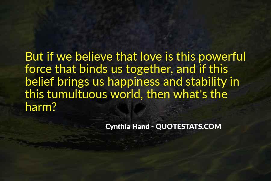 Quotes About Tumultuous Love #993502