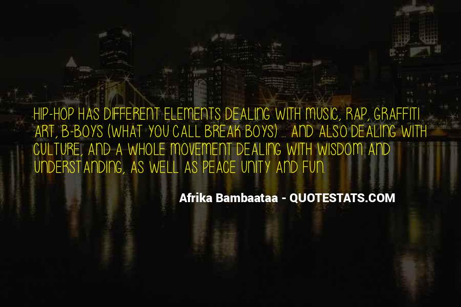 Quotes About Unity And Music #1061468