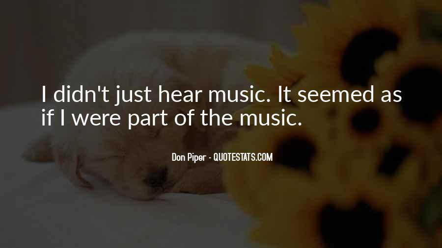 Quotes About Unity And Music #1138423