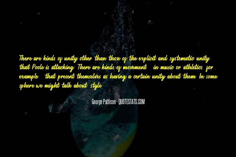 Quotes About Unity And Music #33274