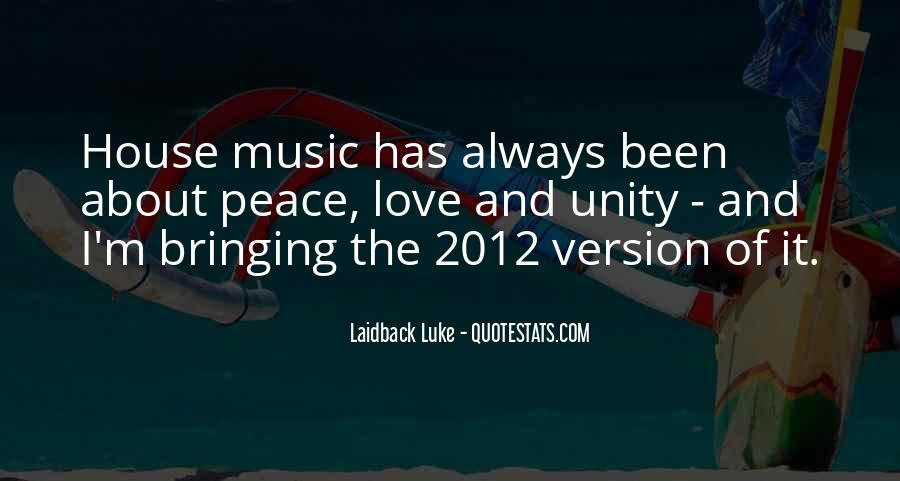Quotes About Unity And Music #379749
