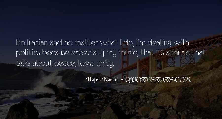 Quotes About Unity And Music #39287
