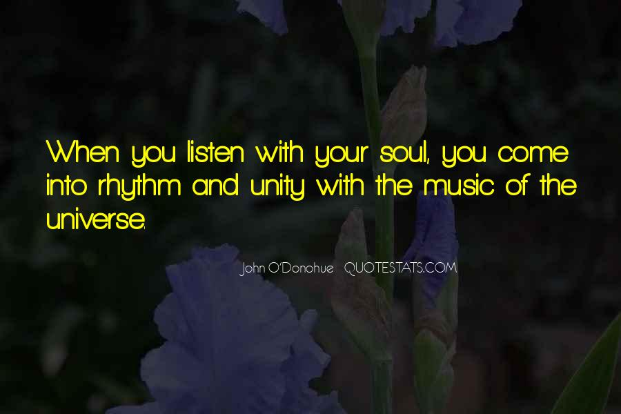 Quotes About Unity And Music #397146
