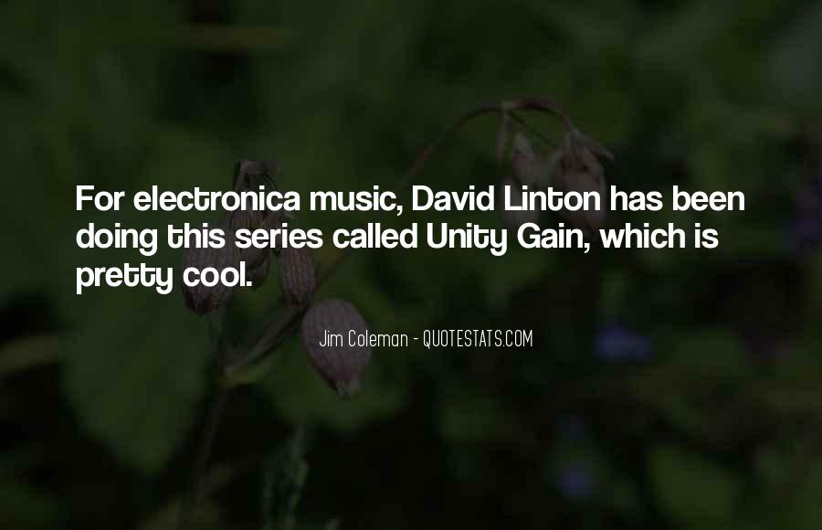 Quotes About Unity And Music #620055