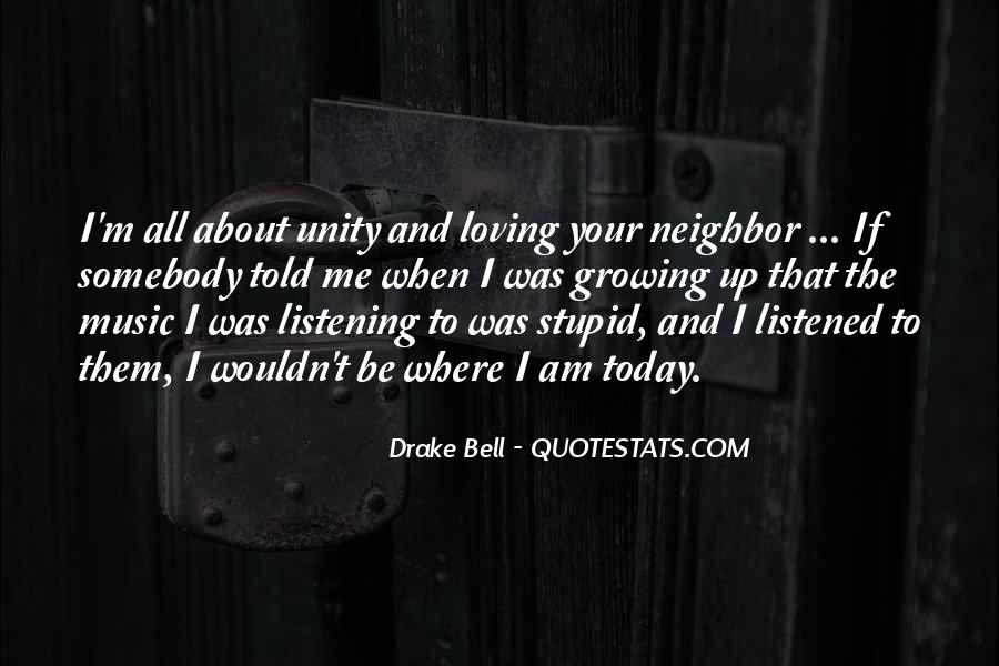 Quotes About Unity And Music #949289