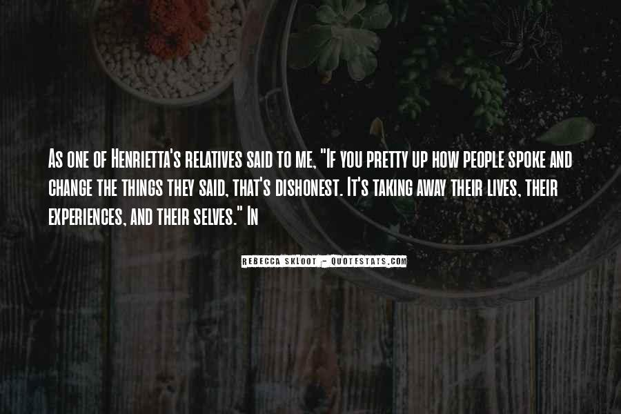 Quotes About People's Lives #52202
