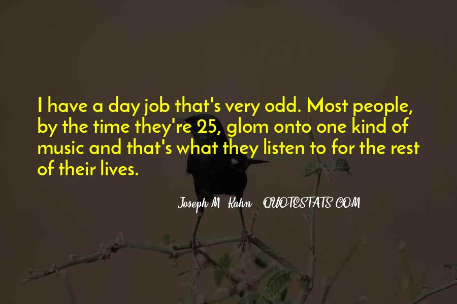 Quotes About People's Lives #69911