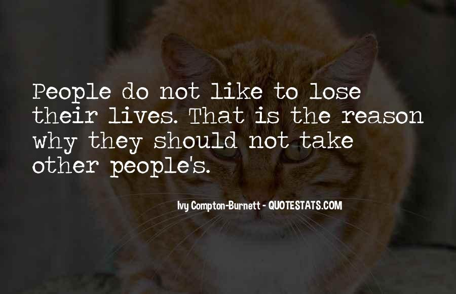 Quotes About People's Lives #83354