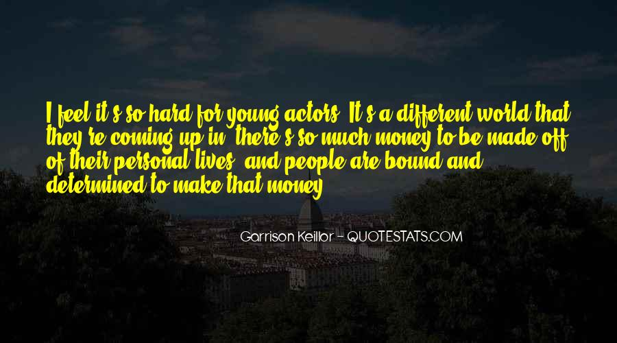 Quotes About People's Lives #83779