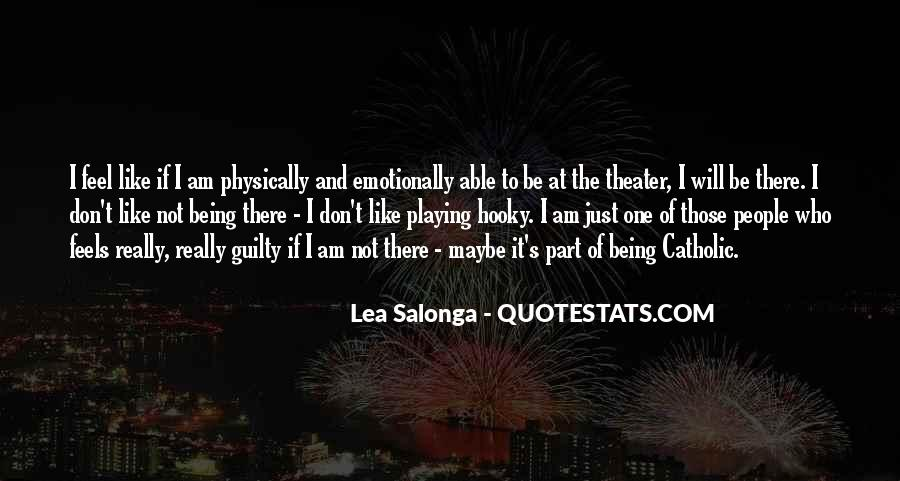 Quotes About Someone Being Guilty #160746