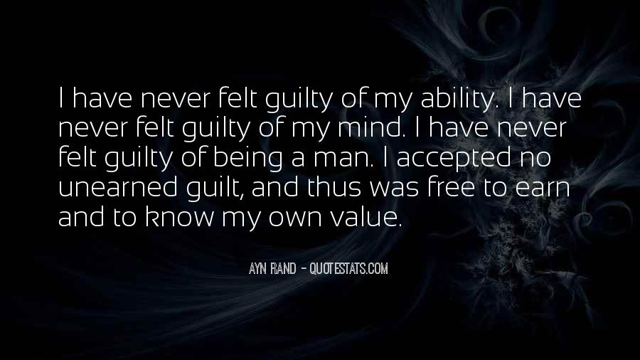 Quotes About Someone Being Guilty #585018