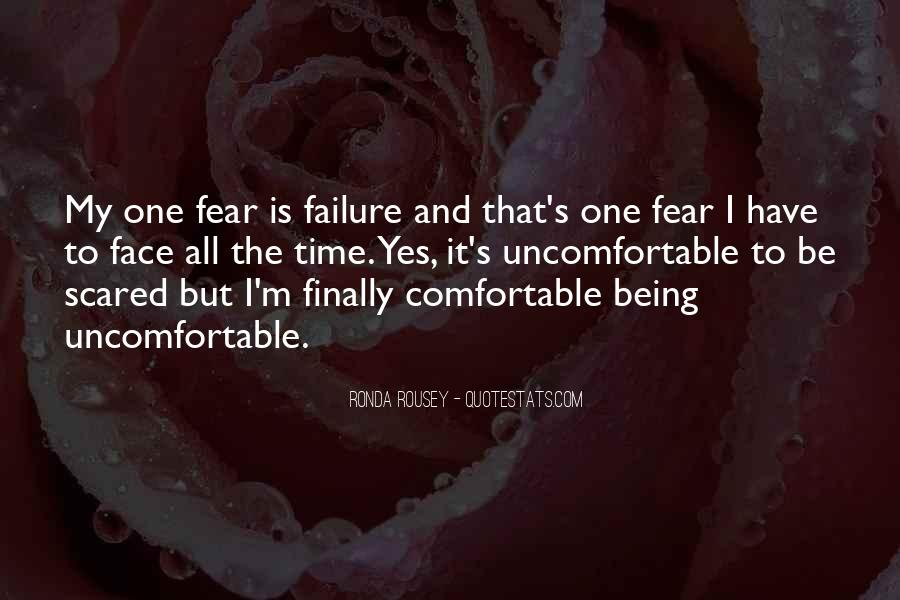 Quotes About Not Being Scared Of Failure #844726