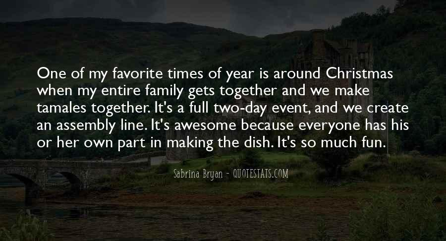 Quotes About Christmas And Family #1672124