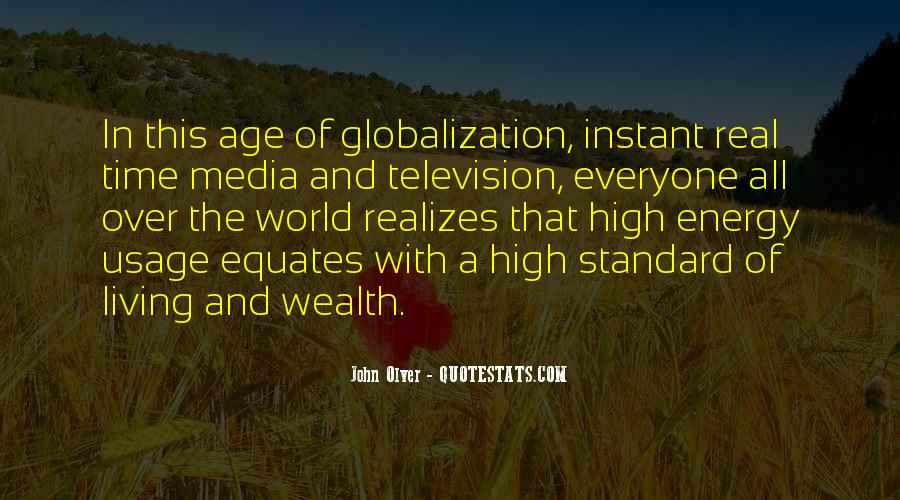 Quotes About Media Usage #1051473