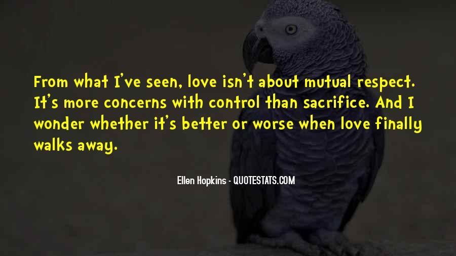Quotes About Love And Respect In Relationships #1337727