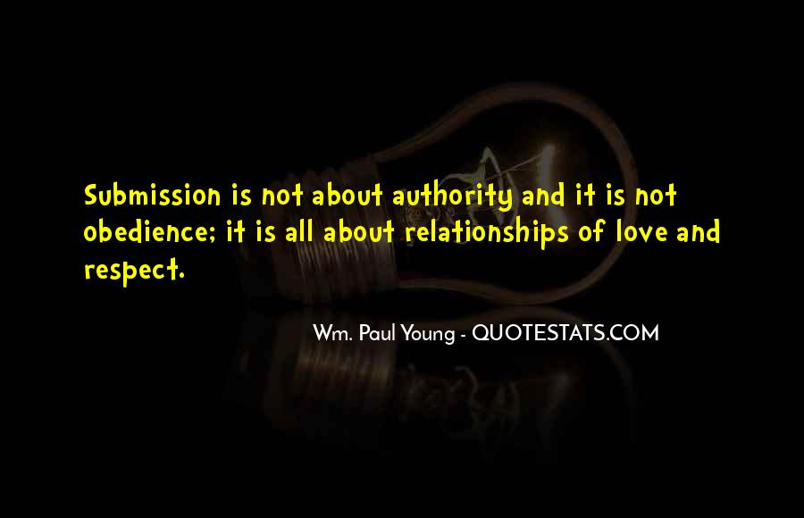 Quotes About Love And Respect In Relationships #1690377