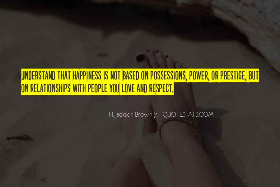 Quotes About Love And Respect In Relationships #1729251