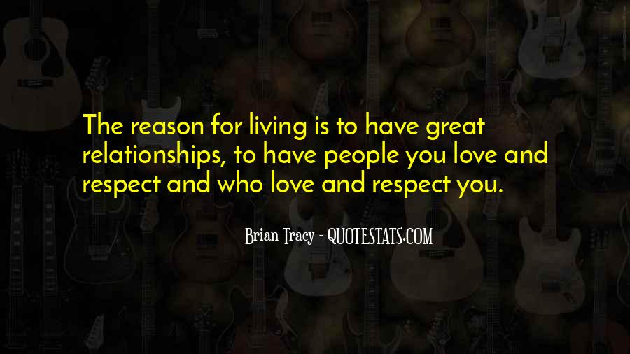 Quotes About Love And Respect In Relationships #235979