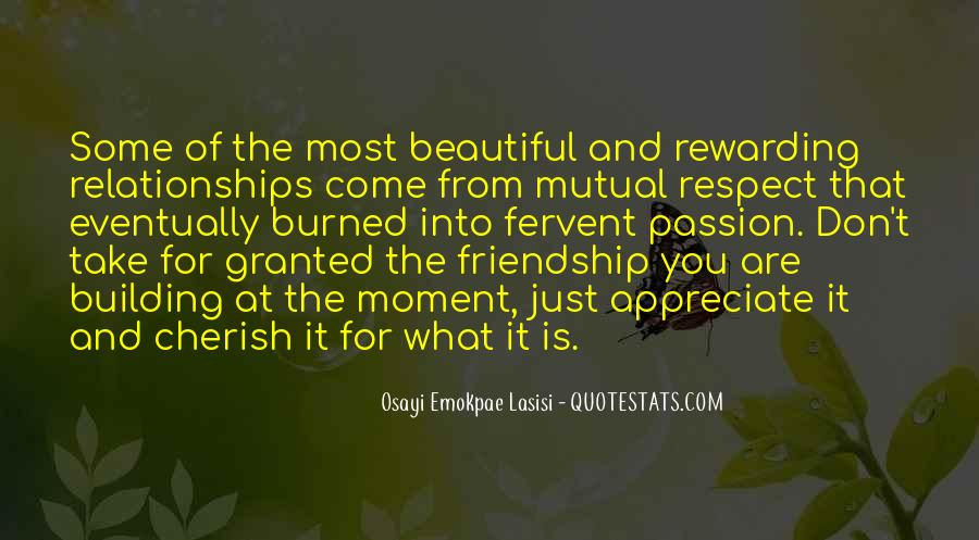 Quotes About Love And Respect In Relationships #576093