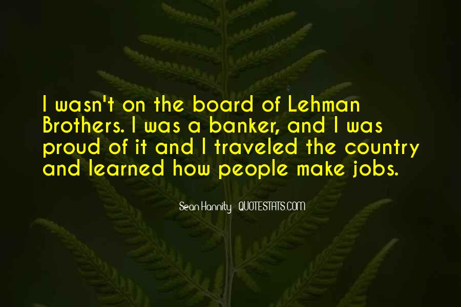 Quotes About Lehman Brothers #1291816