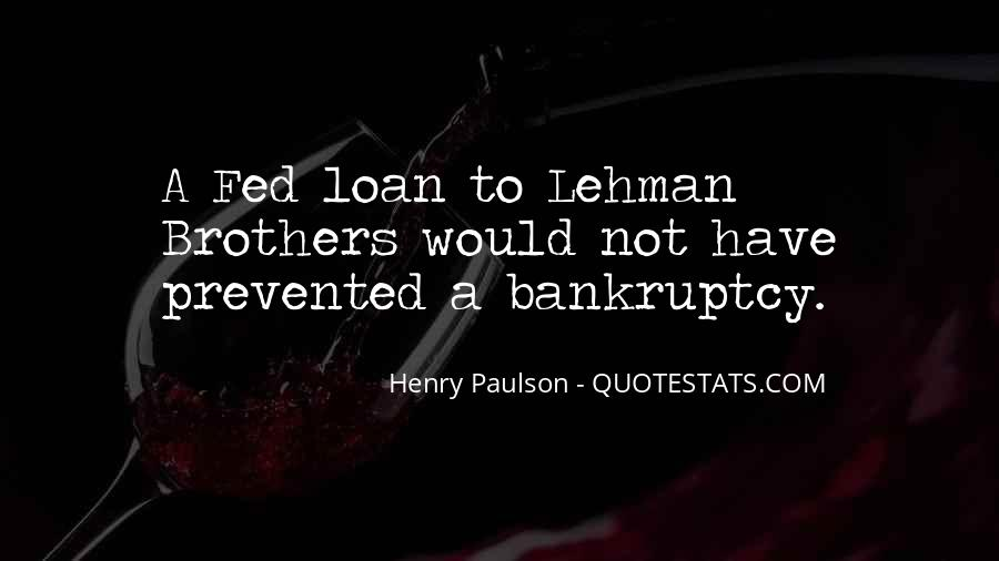 Quotes About Lehman Brothers #1317767