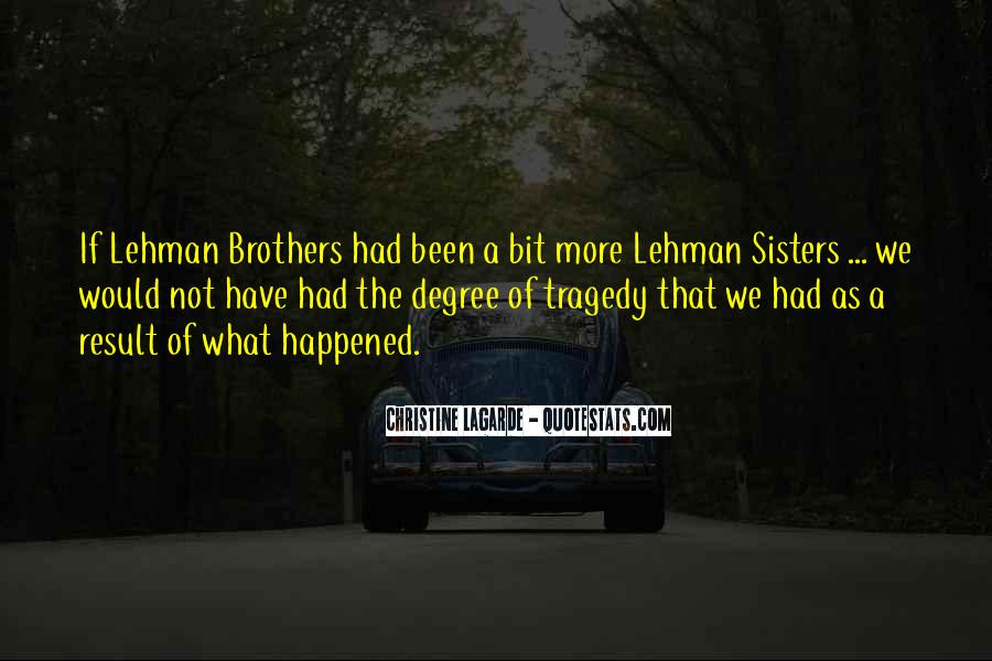 Quotes About Lehman Brothers #1353392