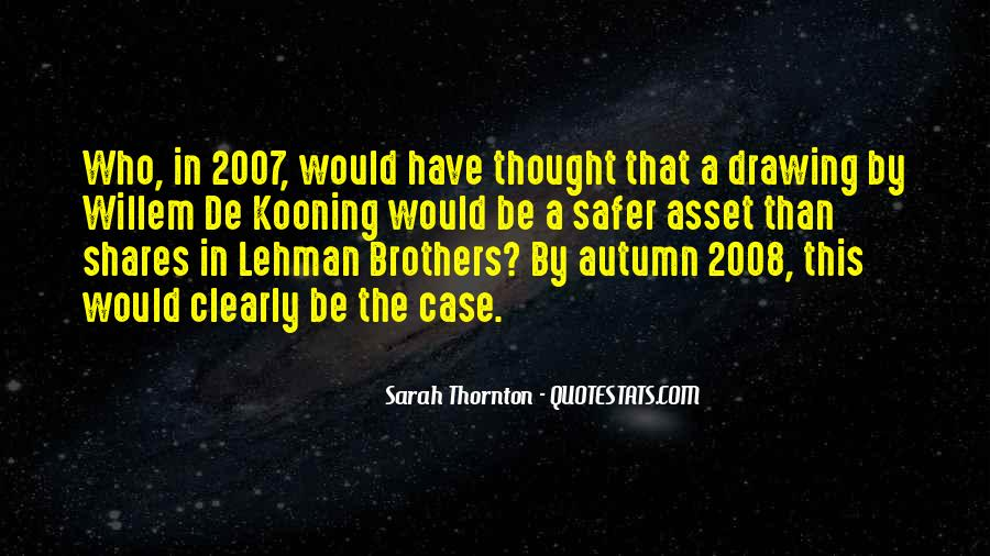 Quotes About Lehman Brothers #177872