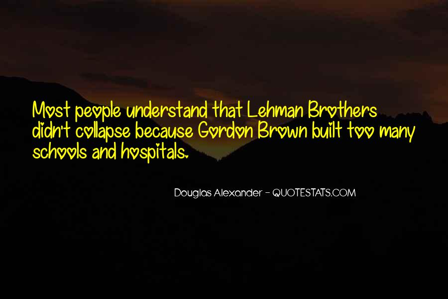 Quotes About Lehman Brothers #178862