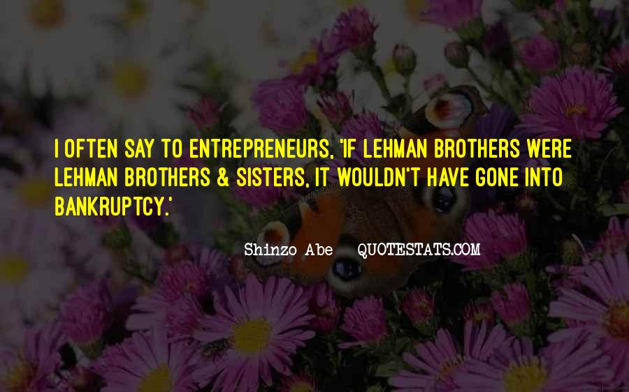 Quotes About Lehman Brothers #555262