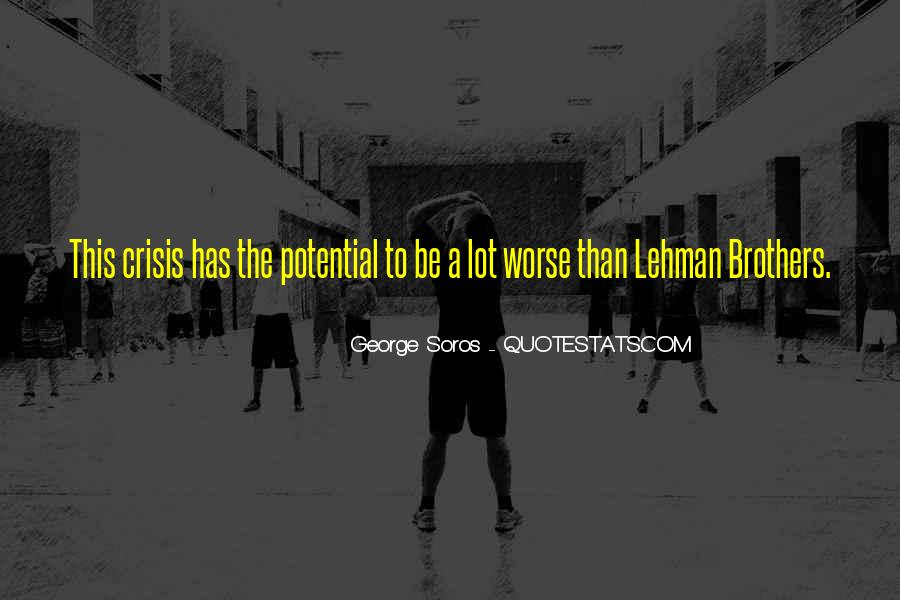 Quotes About Lehman Brothers #719028