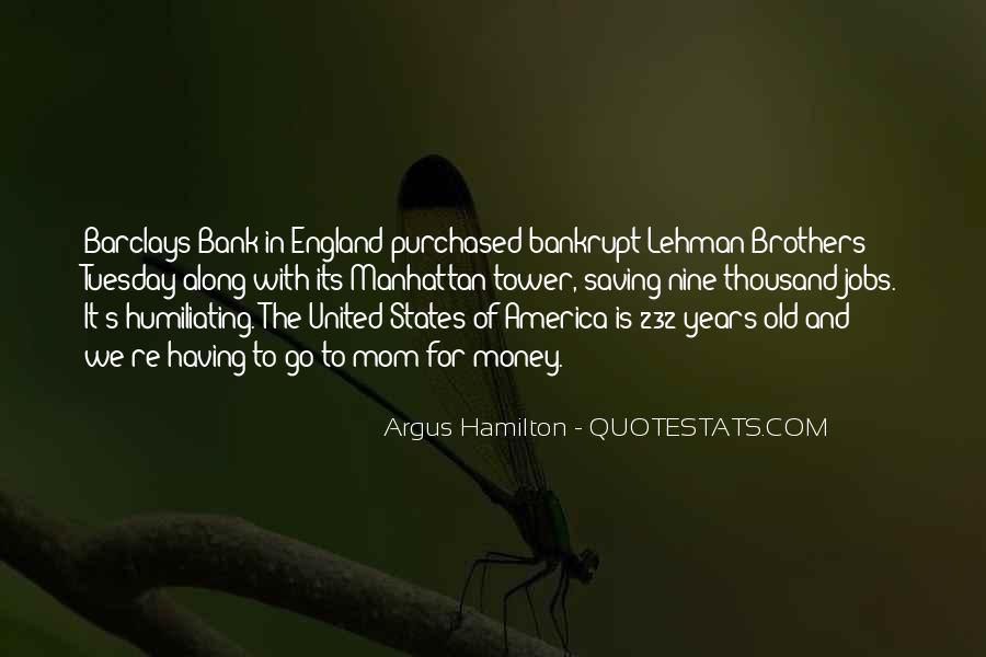Quotes About Lehman Brothers #74391
