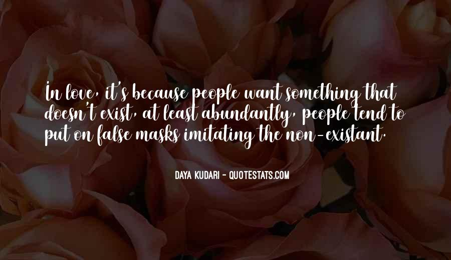 Quotes About Love That Doesn't Exist #869101
