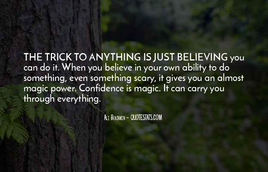 Quotes About Believing In Magic #1653082